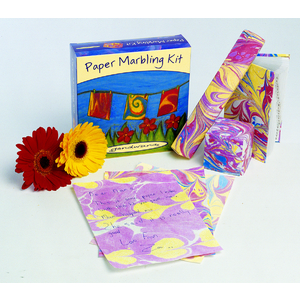 Paper Marbling Kit - PARTY BOX of 6 Kits