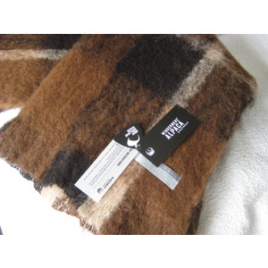 Alpaca Throw - BUFFALO - Pure Alpaca & NZ-Made